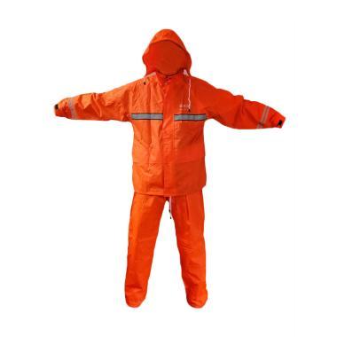 Axio Jas Hujan Setelan - Orange