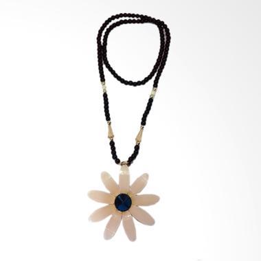 Robagin PW 13 Flower Stone Aksesoris Kalung Wanita - Multicolor