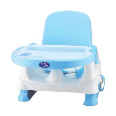 Baby Safe BO01B Folding Booster Seat Kursi Meja Makan Anak Bayi - Biru