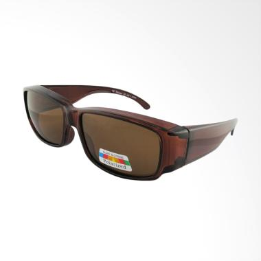 OJO Sport Fit Over Prescription Cov ... a - Brown [I2I-16235-POL]