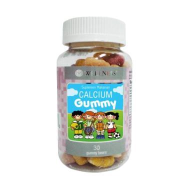 Wellness Calcium Gummy Multivitamin Anak [30 Gummies]