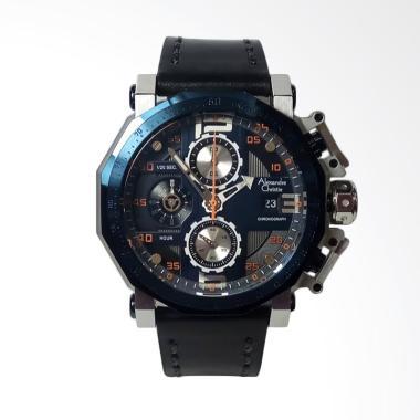 Alexandre Christie Chronograph  Jam ...  [AC6373MC] - Silver Blue