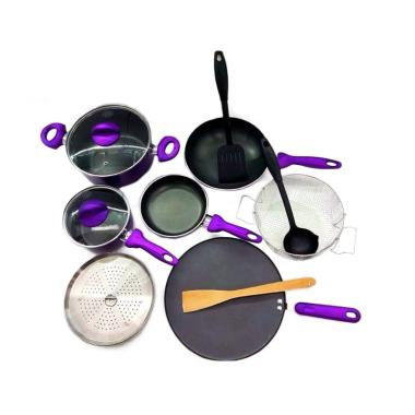 Supra Rosemary Cookware Set Panci [12 pcs]