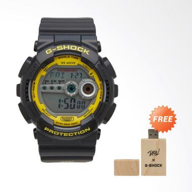 CASIO G-SHOCK Darker Than Wax Limit … W-1DR] + Free USB Mixtape