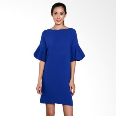 INVIO ID-788 Oleka Dress Wanita - Blue