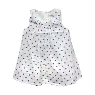 Import Kid H2753 Baju Bayi Perempuan Dress - White