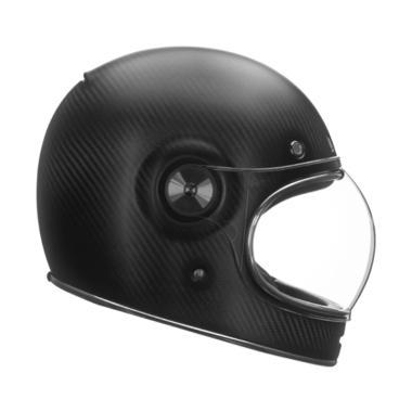 Bell Bullitt Carbon Matt Helm Full Face - Black