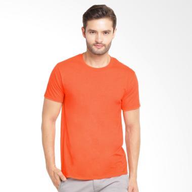 Kingsman Clothing Polos Premium T-Shirt Kaos Pria - Orange