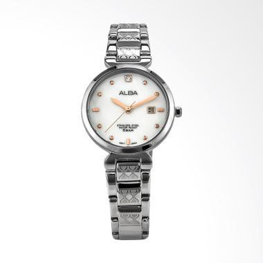 Alba AH7N35X1 Jam Tangan Wanita - Silver White
