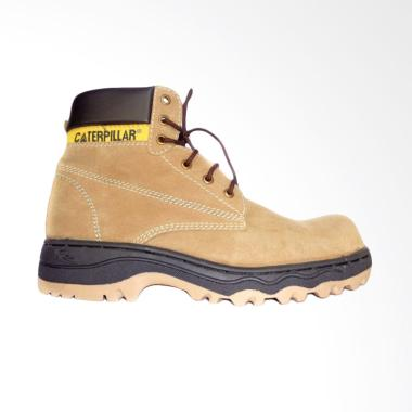 Caterpillar Safety Shoes Dyni Sepatu Pria - Tan