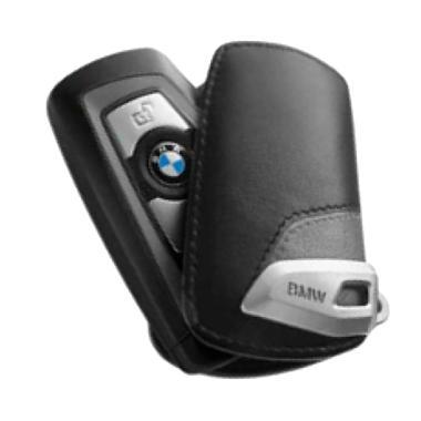 BMW Basic Line Key Case Sarung Kunci Mobil - Grey
