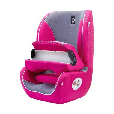 Kiddy Germany Beetle Group-1 Car Seat Booster - Pink