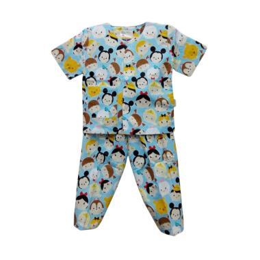 Hoshi Motif Tsum Baju Tidur Bayi Laki Laki - Blue