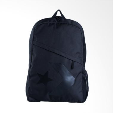 Converse Star Chevron Tas Ransel Pria - Black [CON5996-A01]