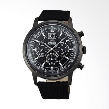 Orient Classic Jam Tangan Pria - Black [FTV02001B]
