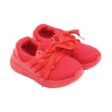Faster 1704-600 Sepatu Sneakers Anak Laki-laki - Merah