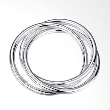 SOXY LKNSPCB047 New Fashion Round Shape Bracelet - Silver
