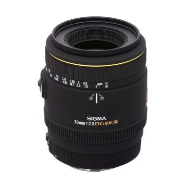 Sigma 70mm f/2.8 EX DG Macro Lensa Kamera for Canon