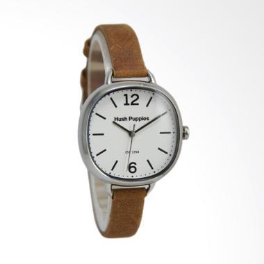 Hush Puppies HP.3849L.2501 Jam Tangan Wanita - Coklat Putih