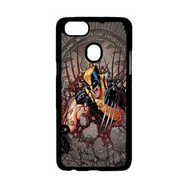 OEM X Men Wolverine Comic Collage A ... rdcase Casing for OPPO F5