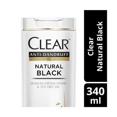 Clear Anti Ketombe Natural Black Shampoo [340 mL]