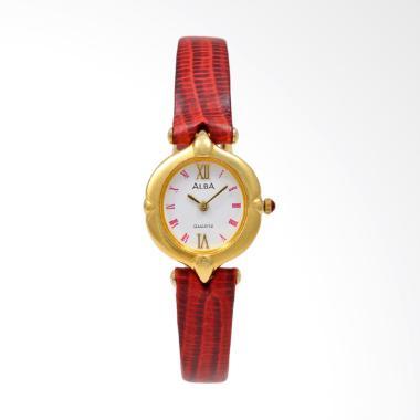 Alba ARYJ90 Jam Tangan Wanita - Red Gold White