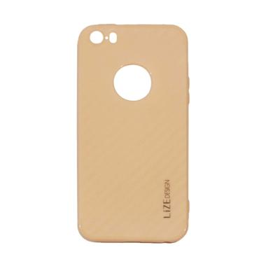 Lize Design Carbon iPhone 5G Candy  ... e 5S / Iphone 5SE - Peach