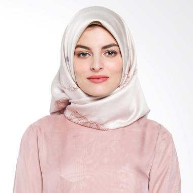 Ria Miranda Palladian Scarf Muslim - Cream