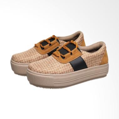 syaqinah_syaqinah-056-sepatu-sneakers-wanita---cokelat_full02 Koleksi Daftar Harga Sepatu Kets Casual Wanita Termurah minggu ini