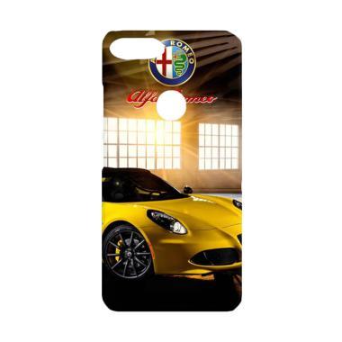 Acc Hp Yellow Alfa Romeo 4C Spider W4931 Casing for Xiaomi Mi A1