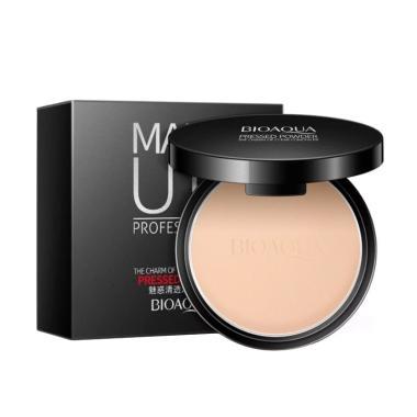 harga BIOAQUA Make Up Professional Pressed Powder Foundation Blibli.com
