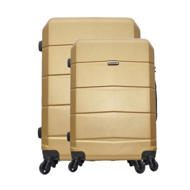 Polo Team 301 Hardcase Set Koper - Gold  [Size 20 dan 24 Inch]