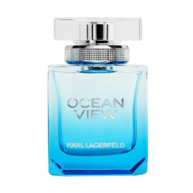 Karl Lagerfeld Ocean View for Women EDP With Cap Parfum Wanita [85 mL]