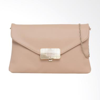 Elizabeth Bag Contessa Clutch Wanita - Cream