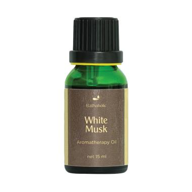 harga Bathaholic White Musk Aromatherapy [15 mL] Blibli.com