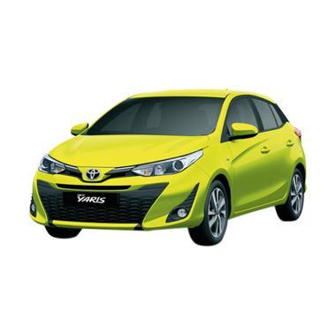 Toyota New Yaris 2018 1.5 E Grade Mobil - Citrus Mica Metallic