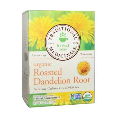 harga Traditional Medicinals Organic Roasted Dandelion Root Teh Herbal Blibli.com