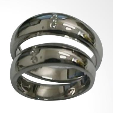 Pentacles TICI248 Wedding Ring White Gold with Diamonds