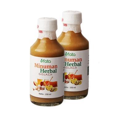 EFATA Minuman Herbal GGLACH Mencega ...  Alami [2 Botol/ @150 mL]