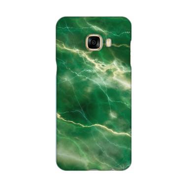 Premiumcaseid Green Marble Stone Gr ... for Samsung Galaxy C7 Pro