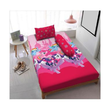 Kintakun Motif Kingdom Of Pony Dluxe Sprei [Single 120x200 cm]