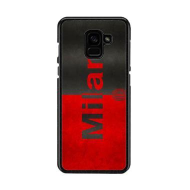 Guard Case Ac Milan Flag O1206 Cust ... msung Galaxy A8 2018 Plus
