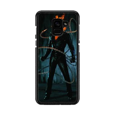 Acc Hp Ghost Rider S0033 Custom Casing for Samsung A5 2018