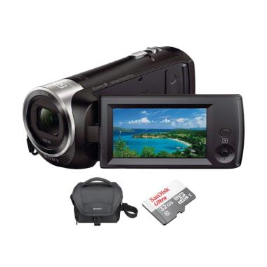 SONY Cx405 Handycam + Tas + Memory