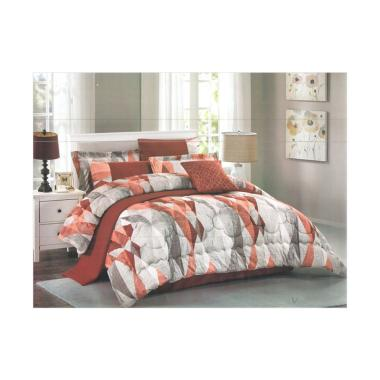 Pantone Rivendell Set Sprei dan Bed Cover