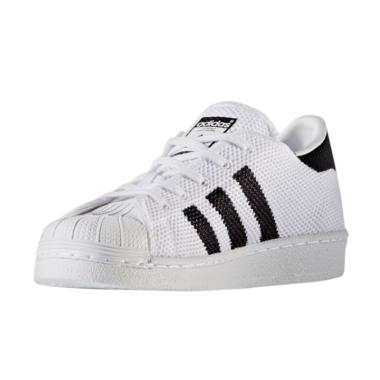 adidas Superstar Youth Sneakers Sep ... ak - White Black [BB2967]