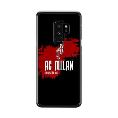 Cococase Ac Milan line Flag E1748 Casing for Samsung Galaxy S9 Plus