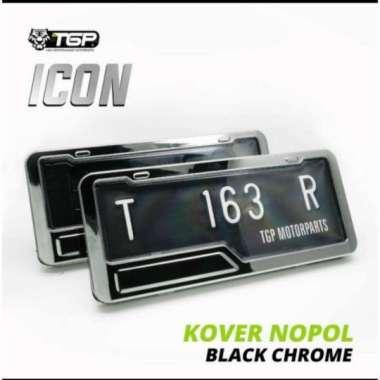 harga Cover plat nomor motor Icon aksesoris variasi Beat Vario 125 150s Multicolor Blibli.com