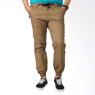 CANY Jogger Celana Panjang Pria - Mocca