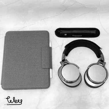 harga Headband cover extra pad headpad pelindung headphone protector tokowey - Abu-abu Medium Sedang Multicolor Blibli.com